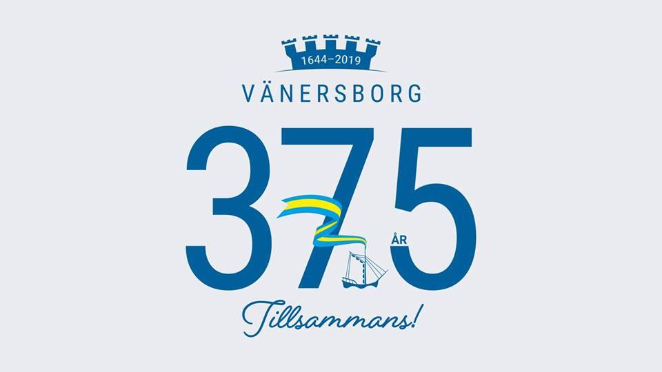 Vänersborgs kommun fyller 375 år! Var med och fira på söndag den 3 februari