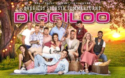 Sveriges största sommarturné är tillbaka – Diggiloo 28 juli på Sanden, Vänersborg!