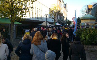 Oktobermarknad i Vänersborg