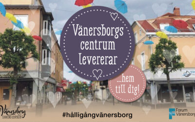 Vänersborgs Centrum levererar hem till dig