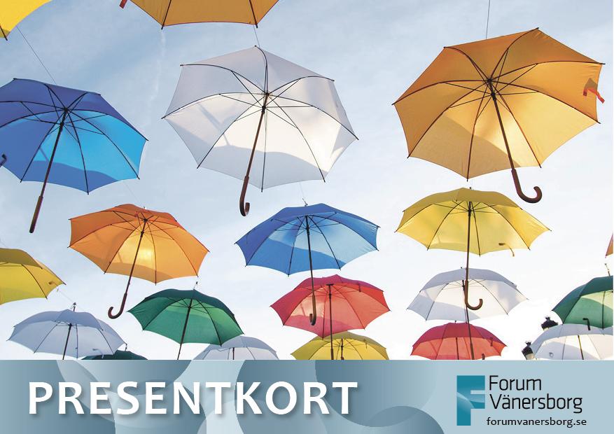 Forum Vänersborgs presentkort växer!
